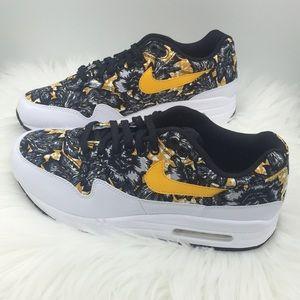 New Nike Air Max 1 QS Floral Print NWT
